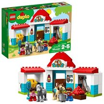 LEGO DUPLO Town Farm Pony Stable 10868 Building Blocks (59 Piece) - $39.58