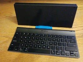 Logitech Wireless Bluetooth Tablet Keyboard for iPad with Stand 4418A-YR0021 - $19.35