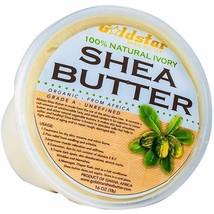 Goldstar 100% Grade A Raw Unrefined Organic Shea Butter (16 oz) - $16.82