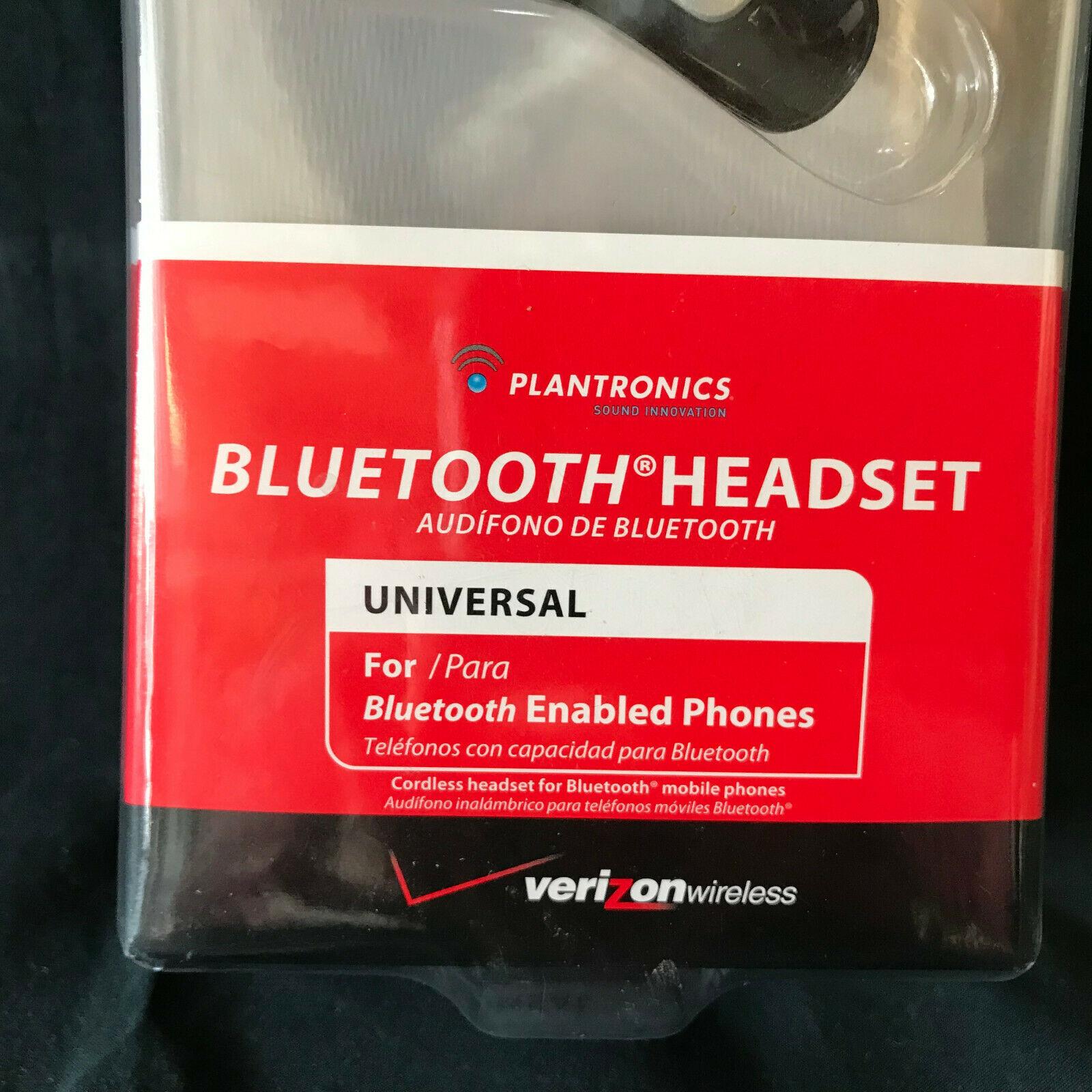 Plantronics Universal Bluetooth Headset PBT222Z NIP Enabled Cell Phone
