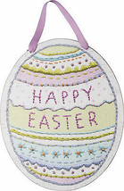 PBK Spring Easter Decor - Happy Easter Egg Oval Sign #26346 - $22.95