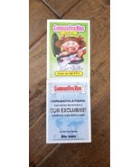 2019 SDCC PROMO CARD TOPPS GARBAGE PAIL KIDS BARF-BIT BETTY SIGNED BY JO... - $34.64