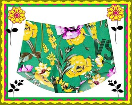 M  Green Floral  NO SHOW Seamless Victorias Secret High Waist Brief Pant... - $10.99