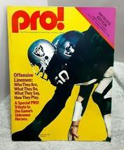 Vintage 1977 PRO New England Patriots Edition Buffalo Bills Dave Dalby R... - $11.87