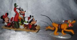 5 Ornament Set: Merry Mittens Minnie, Downhill Dashin Mickey, Cool Duck ... - $79.19