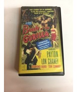 Bride of the Gorilla VHS Tape Horror Movie 1951 - $14.01