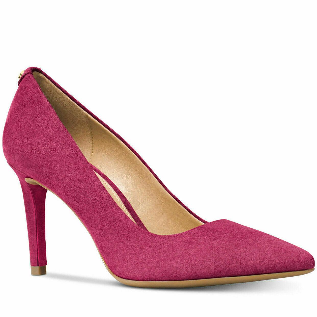 Michael Kors Dorothy Lacquer Pink Flex Pump Shoes Size 8