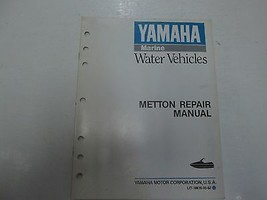 1991 Yamaha Marine Water Vehicles Metton Repair Manual Stained Factory Oem - $29.62