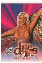 "2001 Fleer WWF Diva ""The Kat"" Wrestlemania Divas Trading Card (Mint) {4022} - $3.95"