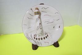 Nautical Lighthouse Fine Porcelain Mikasa Plate Seaside Magic FK016 Wall Decor - $22.50