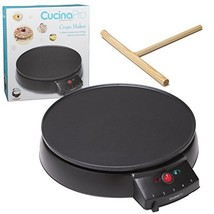 """Crepe Maker and Non-Stick 12"""" Griddle- Electric Crepe Pan with Spreader ... - $68.86 CAD"""