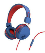 NEW JLAB JBuddies Studio Wired Kids Headphones, Adjustable Volume Safe B... - $24.95