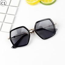 KOTTDO Fashion Kids Sunglasses Cool Baby Oversized Brand Designer Multi-... - $10.80