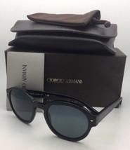 Nuevo Giorgio Armani Gafas de Sol Ar 8005 5001 / R5 Negro Mate en Marco ... - $250.71