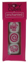 Gamewright Rory's Story Cubes Enchanted Pink Set 3 Cubes 18 Images Fairy... - $4.99