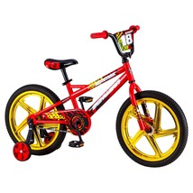 Bmx Bikes For Boys 18 Unch Bicycle Red Comfort Learning Training Wheels Riding - $143.84