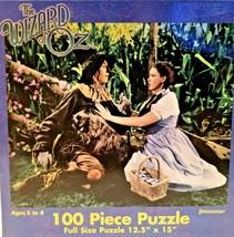 The Wizard of Oz 100 Piece Puzzle by Pressman Dorothy & Scarecrow  - $19.79