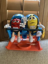 M&M's amusement park roller coaster ride candy dispenser Great Christmas... - $59.00