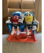 M&M's amusement park roller coaster ride candy dispenser Great Christmas... - $59.00