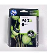 HP 940XL Black C4906AN Printer Ink Cartridge OEM Exp 2014 NIB - $8.59