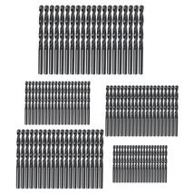 100pcs 1mm-5mm Nitrided HSS Twist Drill Bit Set for Woodworking Hole Opener - $22.80