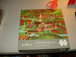 Autumn Hills 1000 Piece Puzzle The Hallmark Archive Collection Open Box ... - $14.84