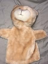 "Vintage Animal Puppet 10"" Bear Teddy - $17.81"