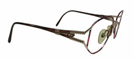 Vintage Christian Dior Eyeglass Frames Austria 2492 Tortoise Gold Red  54-16-140 - $106.65