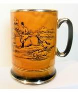 "Vintage Stein Mug Arthur Wood England 5.25 Inch ""Ye Ole Coaching &Huntin... - $17.00"