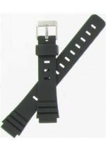 Hadley-Roma 14mm Black Ladies Divers Watchband SHIPSFREE - $12.71