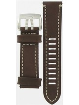 Luminox 23mm Brown Leather Watch Band FEL180070Q for 1800/1801 Series Wa... - $64.35