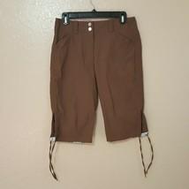 Nike Golf Women's Capri Pants Size 6 Brown Fit Dry NB16 - $15.83