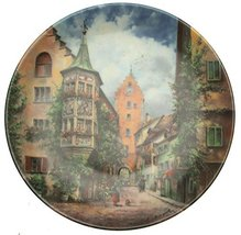 Bradford Exchange Vohenstrauss Seltmann Obertorturm zu Meersburg Verstec... - $35.67