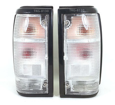 1 PAIR REAR TAIL LIGHTS WHITE LENS FOR MAZDA MAGNUM B2000 B2200 B2600 19... - $102.01