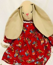 "Handmade Bunny 18"" Easter Plush Doll - $27.16"