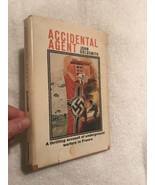 1971 Hard Cover w D/J  ACCIDENTAL AGENT by John Goldsmith  Good Shape  BCE  - $9.95