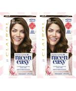 2 Clairol Nice'n Easy Permanent Hair Color Crème 5N Medium Neutral Brown - $19.79