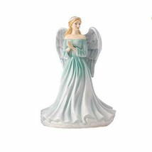 "Royal Doulton Watchful Angel 7"" Bone China Figurine NEW BOX DIVINE FRIEN... - $138.59"