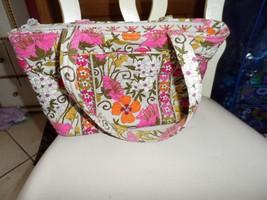 Vera Bradley small Mandy handbag in tea garden pattern   - $15.00