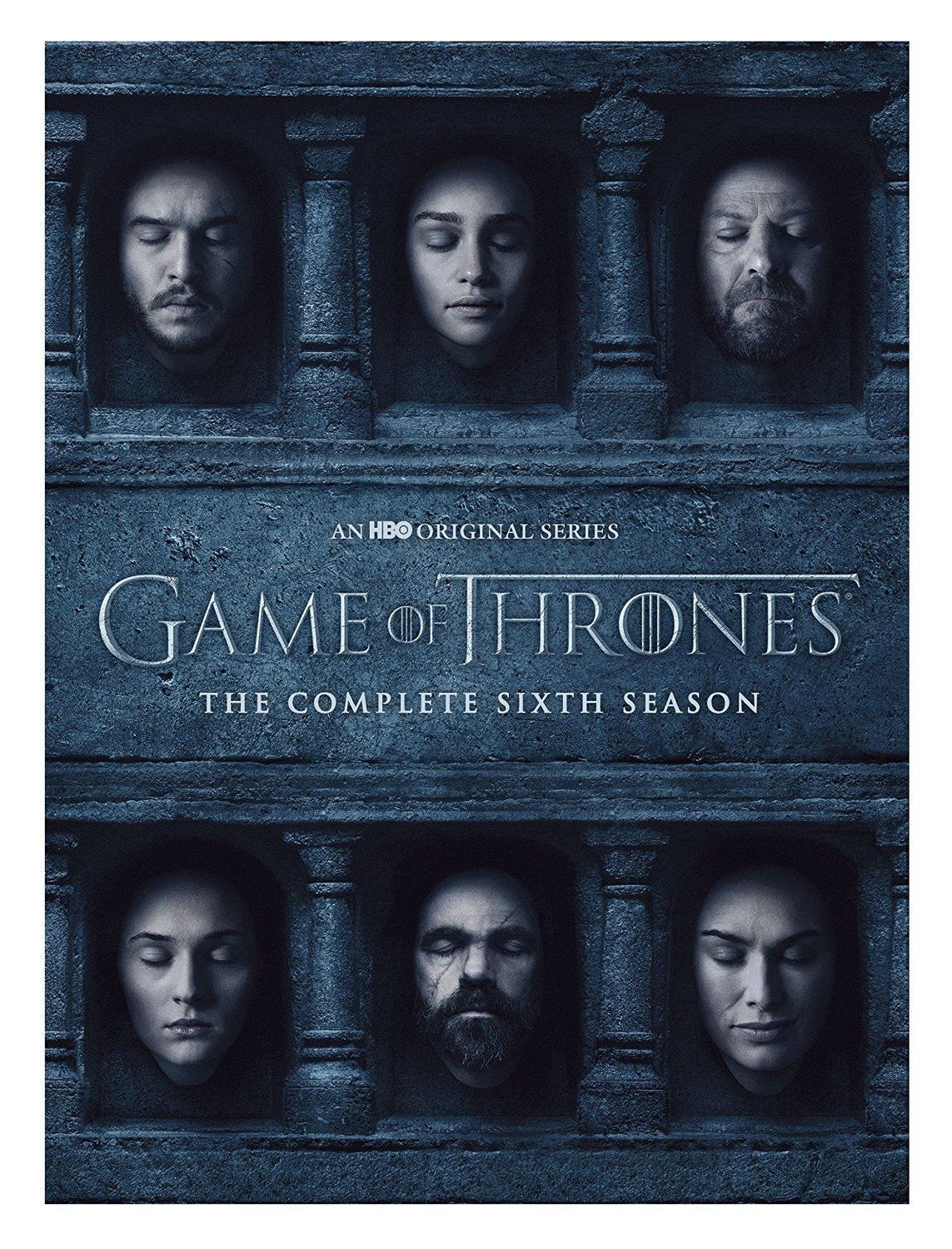 Game of Thrones: The Complete Sixth Season 6 (DVD Set New)  HBO TV Series
