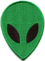 Alien extraterrestrial ET ufo flying saucer applique iron-on patch S-1184 - $2.95