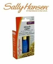 SALLY HANSEN Strength Nail Polish MIRACLE CURE Severe Problem CLEAR - $15.13