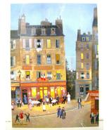 MICHEL DELACROIX Rue des Roisers Soir d'ete  PARIS FRANCE POST CARD - $7.91