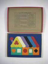 Lauri Rubber Puzzle House 2151 Vintage 1970s Maine Toy 19 Pieces Ages 4 ... - $22.44