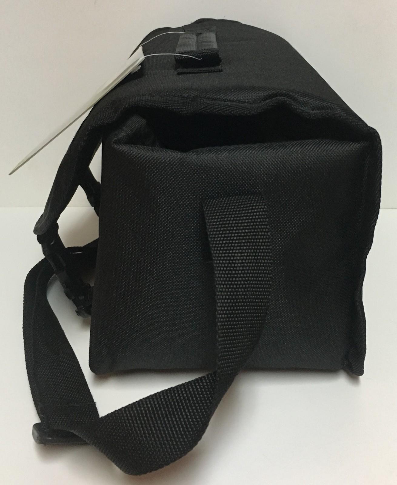 """Vivitar Carry On Gadget Bag Black 11"""" x 6"""" x 6"""" Adj Strap Easy Clasp Camera Cam"""