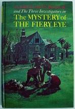 Three Investigators no.7 Mystery of the Fiery Eye 7th Print hc Robert Ar... - $12.00