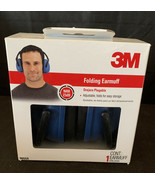 Earmuffs 3M Folding Blue Noise Reduction Rating (NRR) 23dB Protection - $12.60