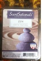 ZEN Wax melts ScentSationals NEW 6 scented cubes Soothe Your Soul - $6.00