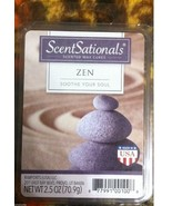 ZEN Wax melts ScentSationals NEW 6 scented cubes Soothe Your Soul - $6.00