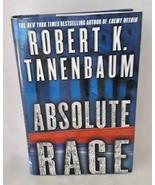 Absolute Rage Robert Ranenbaum Suspense Crime Novel HBDJ - $9.89